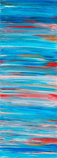 Wave Scroll Blue